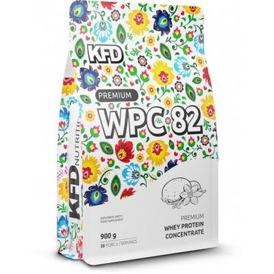 KFD Premium XXL 900g BIAŁKO KFD LODY WANILIOWE