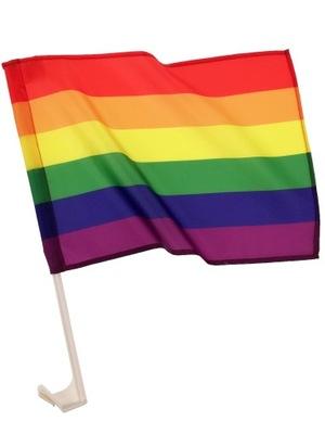 Флаг автомобиля PRIDE ЛГБТ-40x30cm * TEXICO