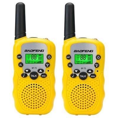 Radiotelefon Baofeng BF-T388 2 szt. - żółty
