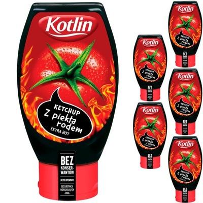 Kotlin Кетчуп томатный из ада 6x450g