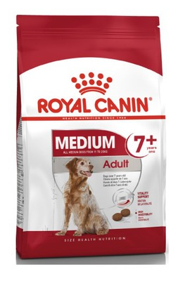 ROYAL CANIN Medium adult +7 Karma Dla Psów 4 kg