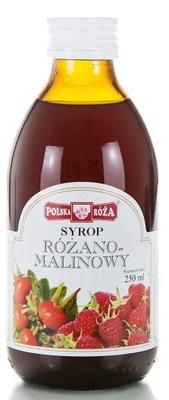 сироп РОЗОВО-Instagram польский  роза 250 МЛ