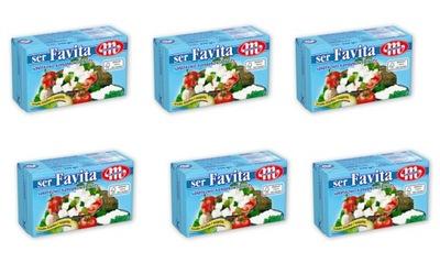 Ser Favita 18 % sałatkowy 6 szt.po 270 g.