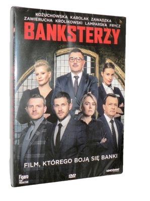 DVD - BANKSTERZY(2020) - M.Bonaszewski, nowa folia