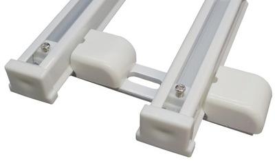 Szyna Aluminiowa MS SMART CLICK podwójna 180 cm