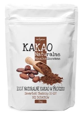 Какао натуральные порошок 1кг niealkalizowane