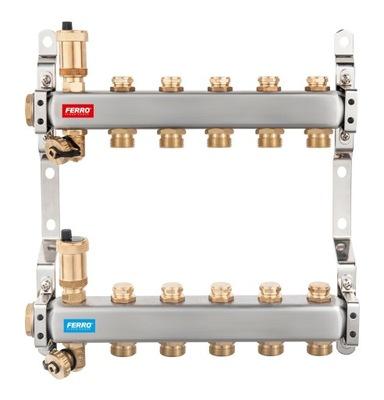 2-cestné oceľové potrubie s uzatváracím ventilom