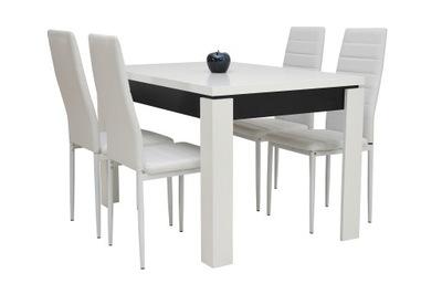 стол 70x120 4 стулья комплект мебели Салон