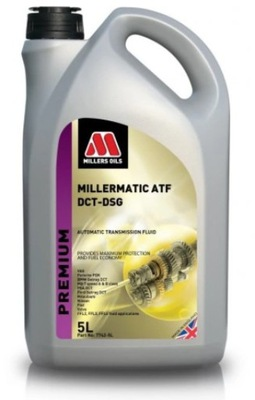 MILLERS MILLERMATIC ATF DCT DSG 5L