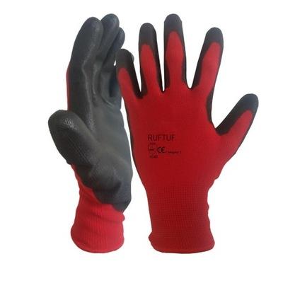 перчатки перчатки рабочие r10 красно - черные