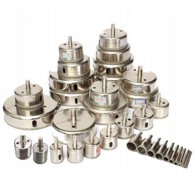 zestaw 20 otwornic diamentowych do gresu 6-120 mm