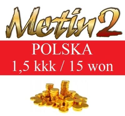 METIN2 POLSKA YANG WON 1,5kkk YANG YANGI 15 WON
