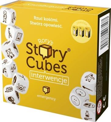 3w1 KOŚCI OPOWIEŚCI Story Cubes INTERWENCJE Gra