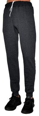 Spodnie cieńsze dres joggery prosto od prod. S