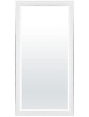 Zrkadlo Visí na Biely Ramenné 81 x 161 x 3 cm