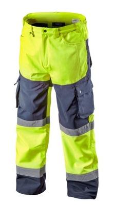 брюки рабочие устойчивость желтые XXXL 81-750-XXXL