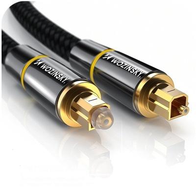 Wozinsky kabel optyczny cyfrowy Toslink Audio 1,5m