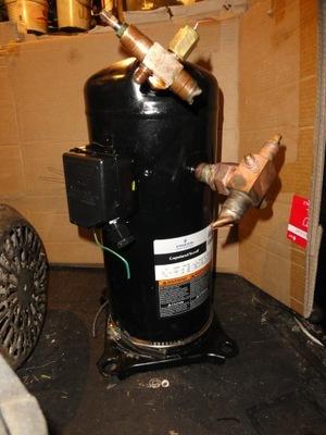 sprężarka chłodnicza Copeland scroll ZR 72 KCE