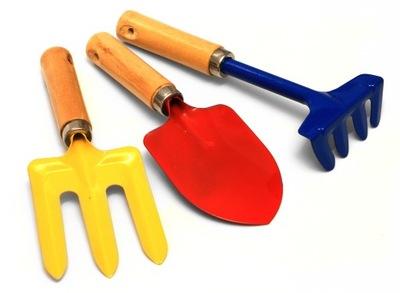 Лопату, вилы, грабельки мини сад инструмент лопата