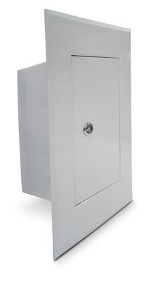 Drzwiczki kominowe białe 13x26 cm wyczystka