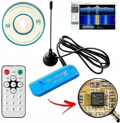 _SKANER #SDR Tuner #SDR DVB-T RTL2832U R820T2