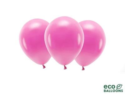 "Balony lateksowe pastelowe fuksjowe 11"" 10szt"