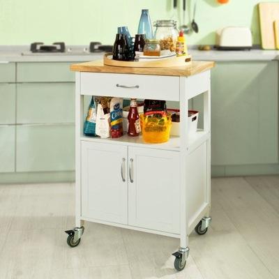 SoBuy FKW22-WN Wózek do serwowania, kuchenny