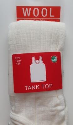 Koszulka Cubus 100% wełna merino 122/128