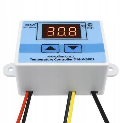 Regulátor teploty Termostat 12V DC Sondy