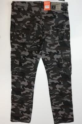 Spodnie bojówki moro elastyczne St Leon TC5 roz 42