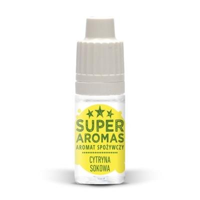 супер AROMAS Ароматизатор пищевой лимон sokowa 10мл