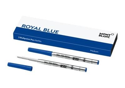 Wkłady do Długopisów Montblanc Royal Blue M 2 szt.