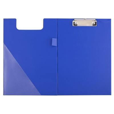 CLIPBOARD Teczka Z KLIPEM A4 zamykana niebieska