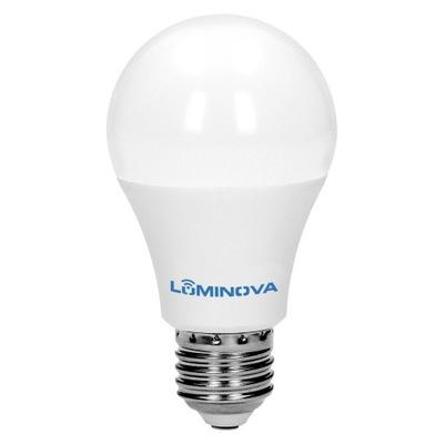 ЛАМПА E27 LED 6W = 50W 570lm тепла LUMINOVA