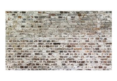 Nástenné maľby XXL na stenu sivá tehlovej steny 500x280