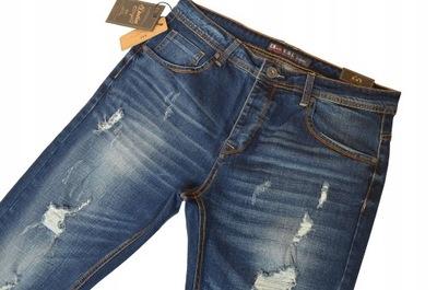 DŁUGIE spodnie jeans pas 86-88cm W32 L32