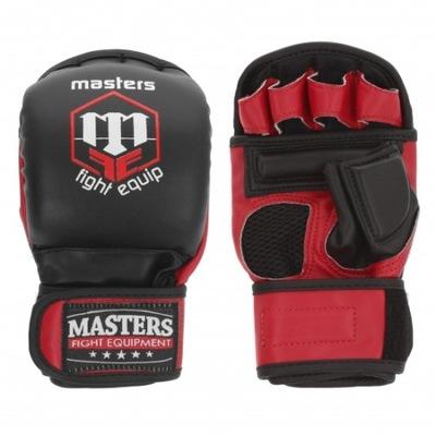 Rękawice sparingowe treningowe chwytne do MMA S