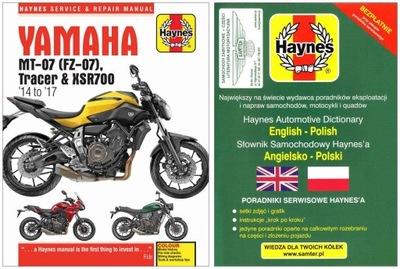 YAMAHA MT-07 TR TRACER (2014-17) MANUAL REPARACIÓN