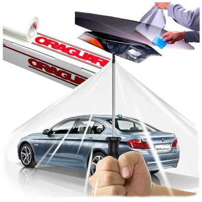 PEGATINA BEZBARWNA PELÍCULA DE PROTECCIÓN AUTO
