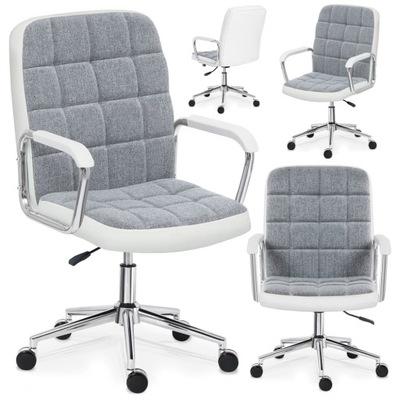Fotel biurowy obrotowy wygodny Krzesło MarkAdler