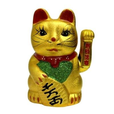Japonski Kot Szczescia Maneki Neko Figura Solarna 8340867876 Oficjalne Archiwum Allegro