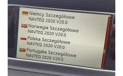 MAPA BECKER MAP ПУЛЬТ MERCEDES EUROPA ПОЛЬША 2020