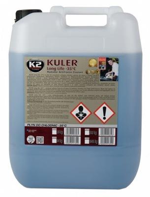 K2 KULER -35°C PŁYN DO CHŁODNIC NIEBIESKI 20KG