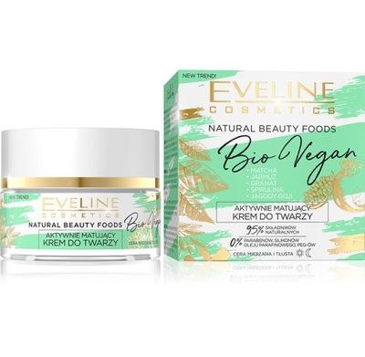 Eveline Natural Beauty Foods Matujący Krem 50ml