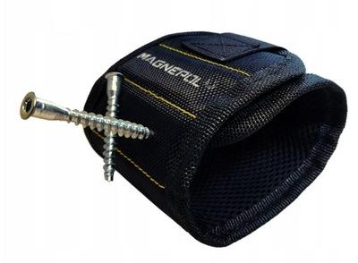Opaska magnetyczna na rękę nadgarstek MOCNY magnes