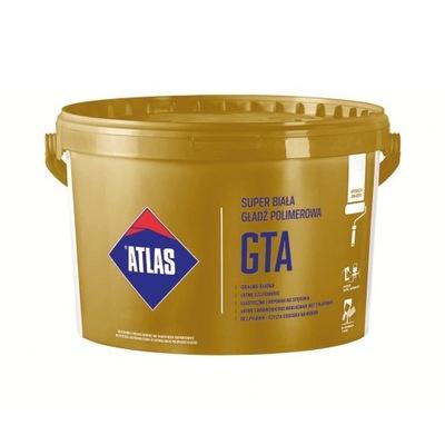 ATLAS GTA GŁADŹ POLIMEROWA 18kg + WAŁEK