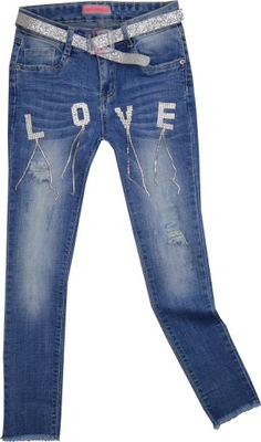LOVE ISLAND Collection JEANS 158/164cm STRETCH