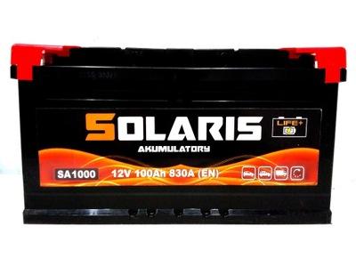 BATERÍA SOLARIS 100AH 830A NUEVO MODELO