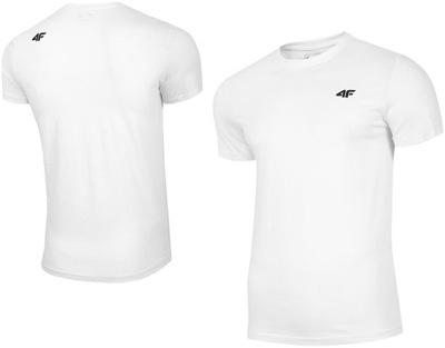 4F T-shirt KOSZULKA Męska Bawełna SPORTOWA r.M