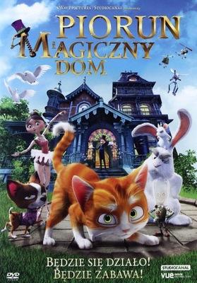 PIORUN I MAGICZNY DOM [DVD]